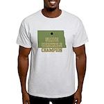 North Dakota State Cornhole C Light T-Shirt