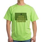 North Dakota State Cornhole C Green T-Shirt