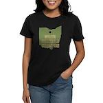 Ohio State Cornhole Champion Women's Dark T-Shirt