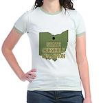 Ohio State Cornhole Champion Jr. Ringer T-Shirt