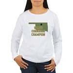 Oklahoma State Cornhole Champ Women's Long Sleeve