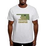 Oklahoma State Cornhole Champ Light T-Shirt