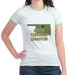 Oklahoma State Cornhole Champ Jr. Ringer T-Shirt