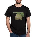 Oklahoma State Cornhole Champ Dark T-Shirt