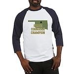 Oklahoma State Cornhole Champ Baseball Jersey