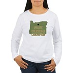 Oregon State Cornhole Champio Women's Long Sleeve