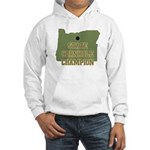 Oregon State Cornhole Champio Hooded Sweatshirt