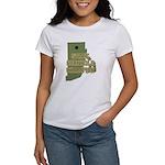 Rhode Island State Cornhole C Women's T-Shirt