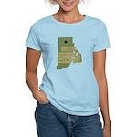 Rhode Island State Cornhole C Women's Light T-Shir