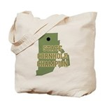 Rhode Island State Cornhole C Tote Bag