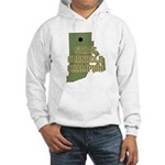 Rhode Island State Cornhole C Hooded Sweatshirt