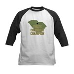 South Carolina State Cornhole Kids Baseball Jersey