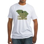 South Carolina State Cornhole Fitted T-Shirt