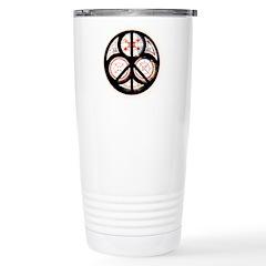 Jewish Peace Window Stainless Steel Travel Mug