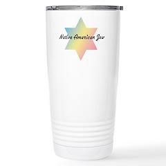 Native American Jew Stainless Steel Travel Mug