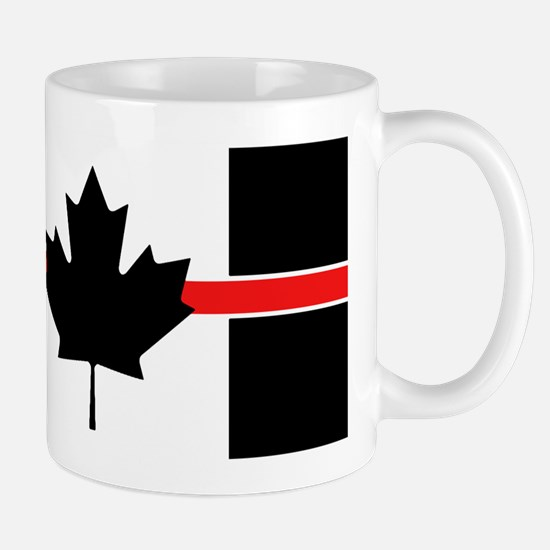 Canadian Firefighter: Thin Red Line Mug