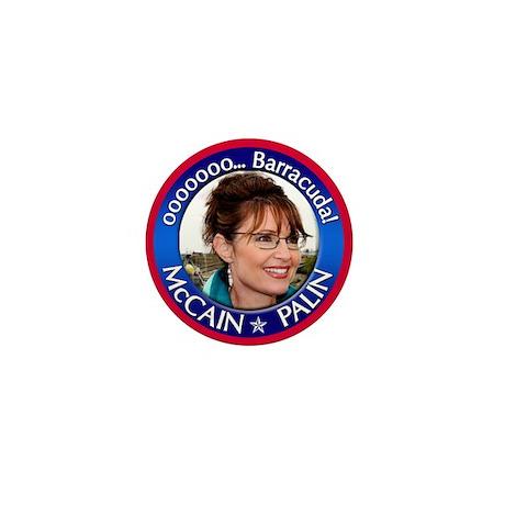 Sarah Palin - ooooo Barracuda Mini Button (100 pac