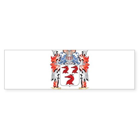 Toddy Coat of Arms - Family Crest Bumper Sticker