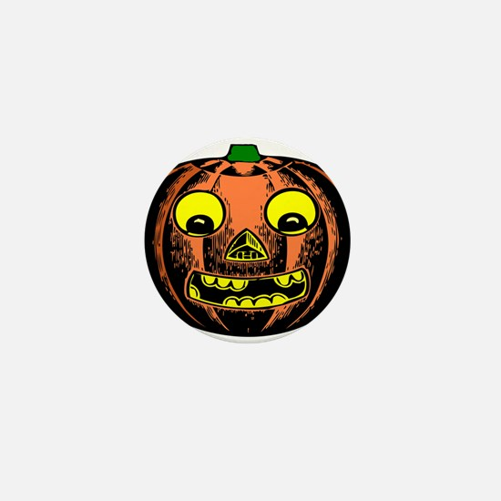 Vintage Jack-O-Lantern Mini Button