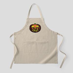 Vintage Jack-O-Lantern BBQ Apron