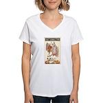 Jolly Halloween Women's V-Neck T-Shirt