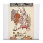 Jolly Halloween Tile Coaster