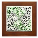 Celtic Puzzle Square Framed Tile