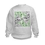 Celtic Puzzle Square Kids Sweatshirt