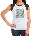 Celtic Puzzle Square Women's Cap Sleeve T-Shirt