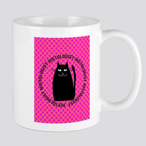 HISTOLOGIST CAT LOVER Mugs
