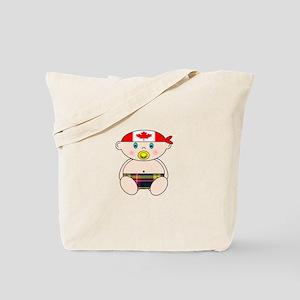 Buchanan Modern with Canadian Bandana Tote Bag