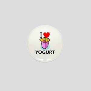 I Love Yogurt Mini Button