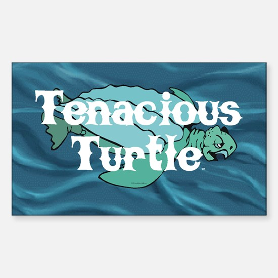 Tenacious Turtle Sticker (Rectangle)