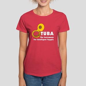 Tuba Genius Women's Dark T-Shirt