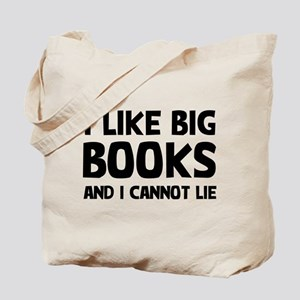 I Big Books Tote Bag