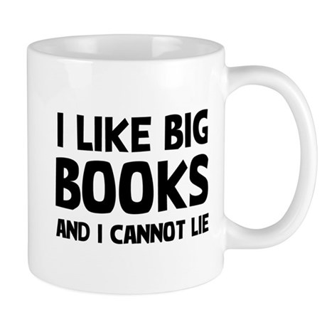 I Big Books 11 oz Ceramic Mug