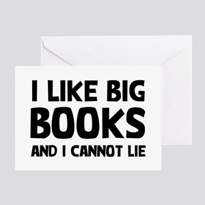 I Big Books Greeting Card