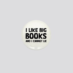 I Like Books Mini Button