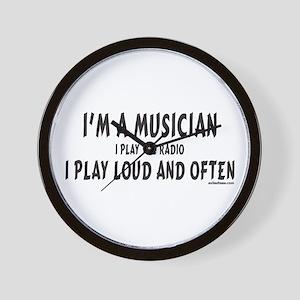 I'M A MUSICIAN Wall Clock