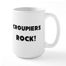 Croupiers ROCK Large Mug