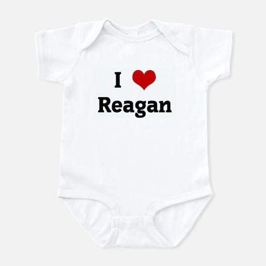 I Love Reagan Infant Bodysuit