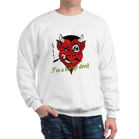 Halloween Horny Devil Sweatshirt