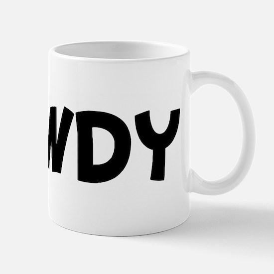howdy Mug