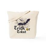 Reusable Trick or Treat Bat Tote Bag