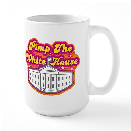 Pimp The White house Retro Large Mug