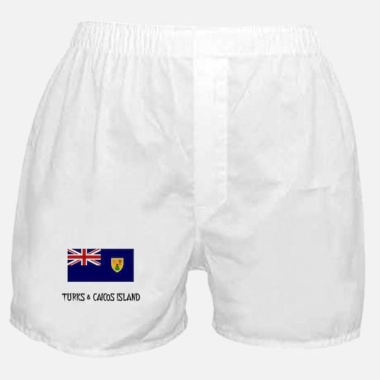 Turks & Caicos Island Flag Boxer Shorts