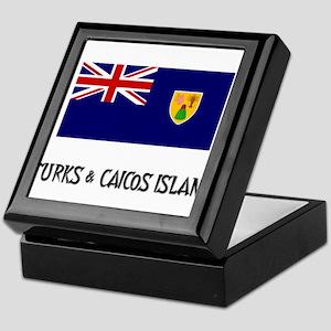 Turks & Caicos Island Flag Keepsake Box