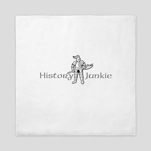 History Junkie Queen Duvet