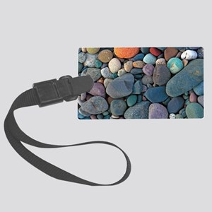 Beach Rocks Large Luggage Tag