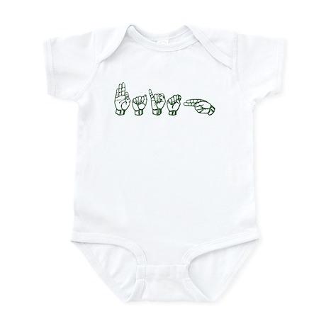 Faith-grn Infant Bodysuit